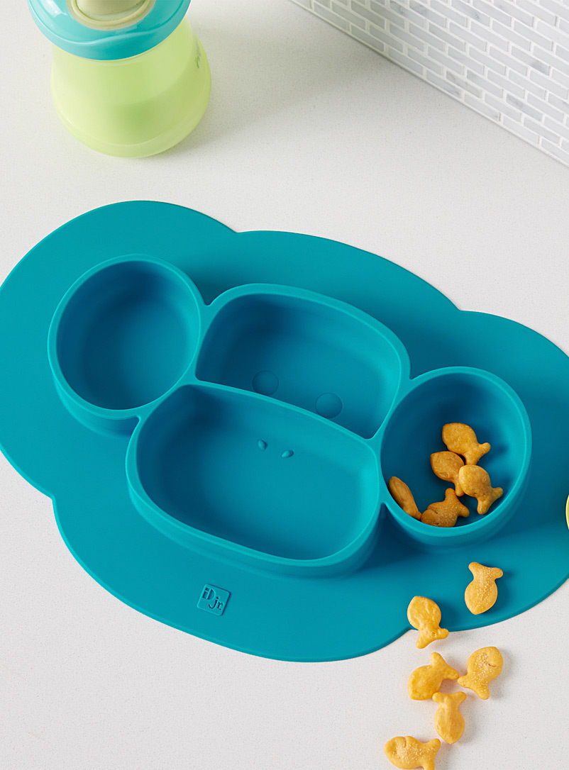 Simons Maison Teal 2-in-1 plate and place mat