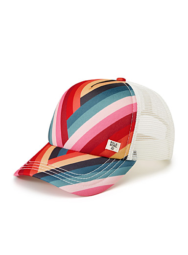 Colourful trucker cap