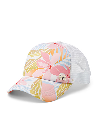 Tropical trucker cap