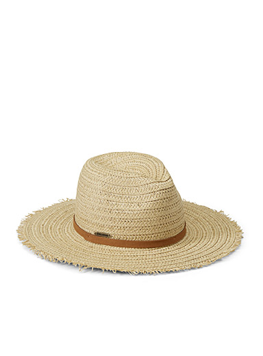 Frayed edges Panama hat