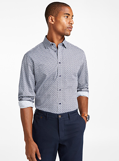 Circle mosaic shirt  Regular fit
