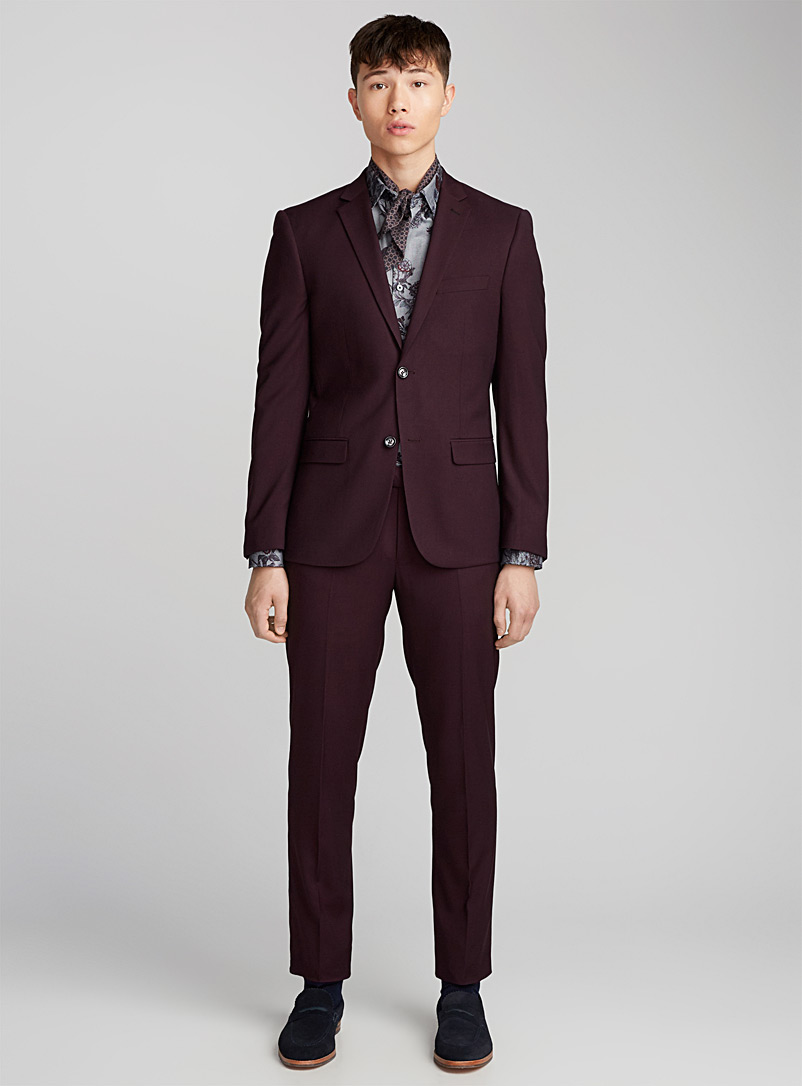 Stretch suit  Semi-slim fit