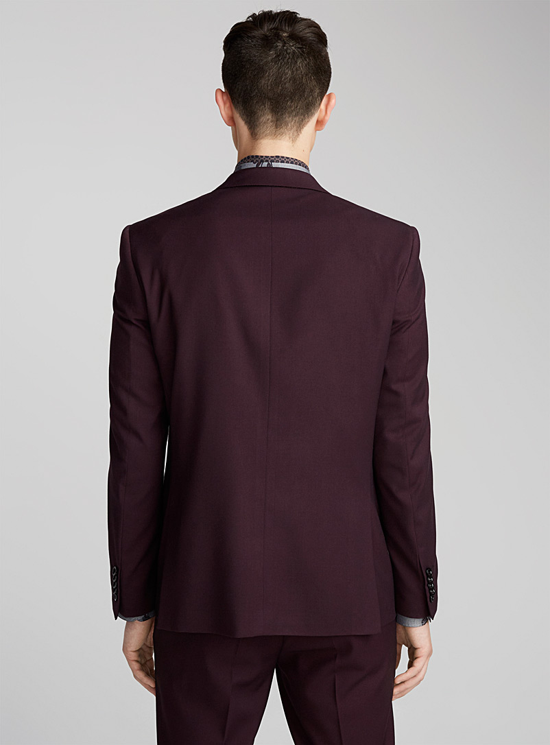 Stretch suit  Semi-slim fit - Slim Fit - Ruby Red