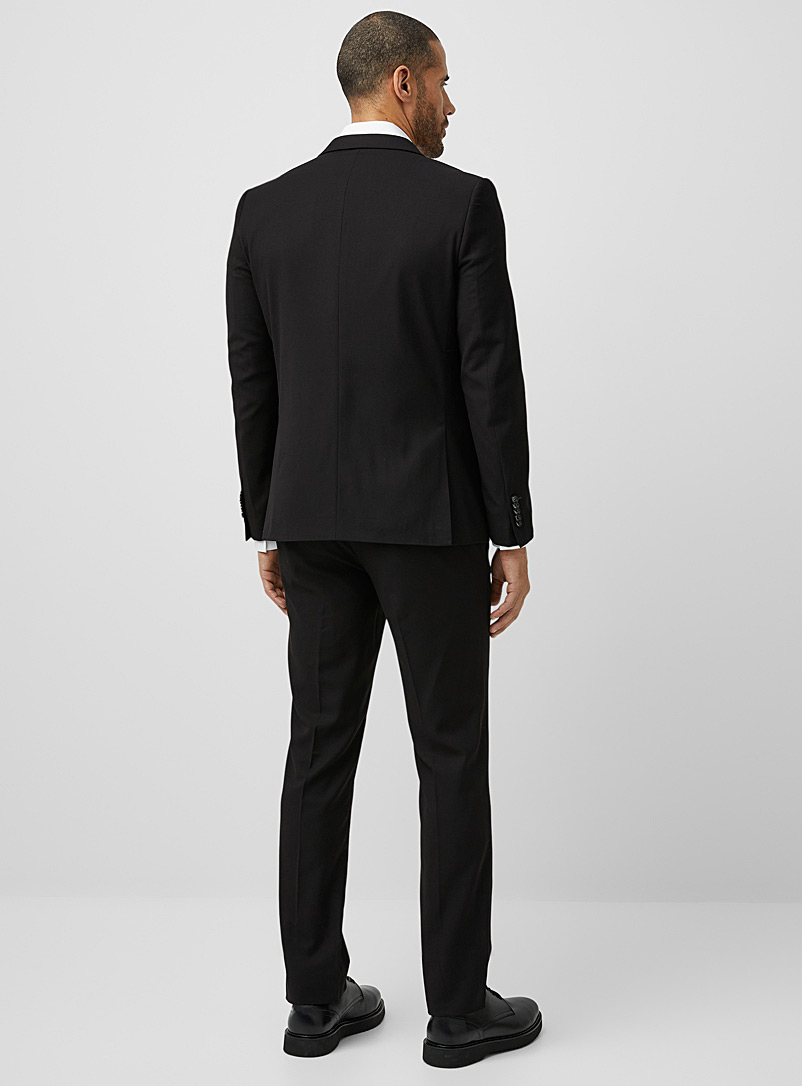 Fluid suit  Semi-slim fit - Semi-slim Fit - Black