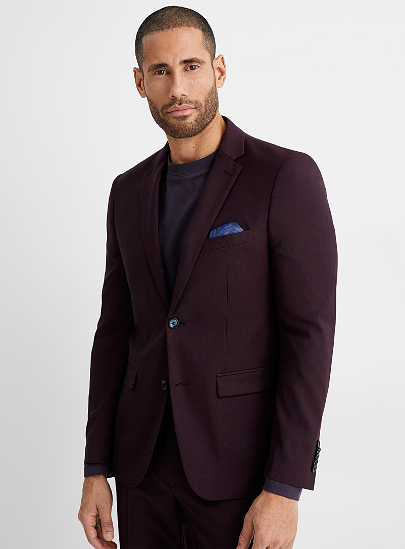 Fluid suit  Semi-slim fit - Semi-slim Fit - Ruby Red
