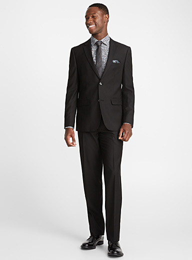Geo micro jacquard suit  Semi-slim fit