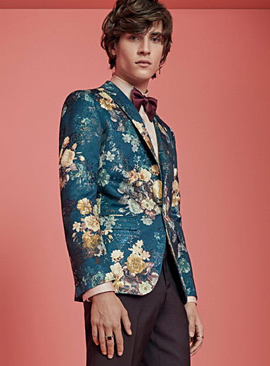 Glam floral jacket  Slim fit