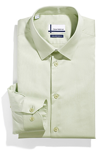 Satiny business shirt  Comfort fit