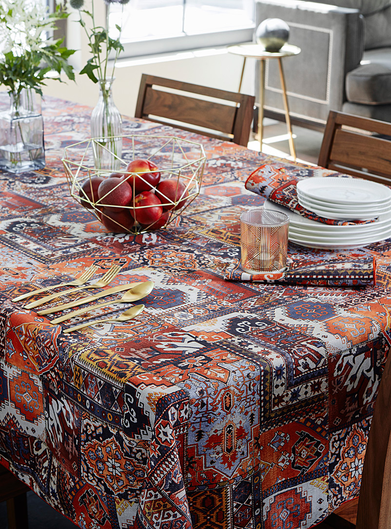 Simons Maison Assorted Eastern splendour tablecloth