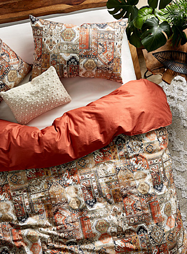 Simons Maison Assorted Oriental collage duvet cover set