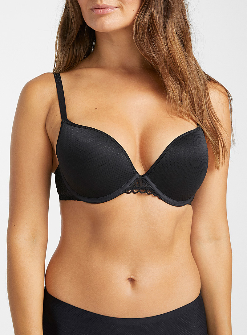 Passionata Black Ironic push-up bra for women