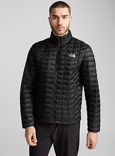 High-neck Thermoball jacket  Active fit