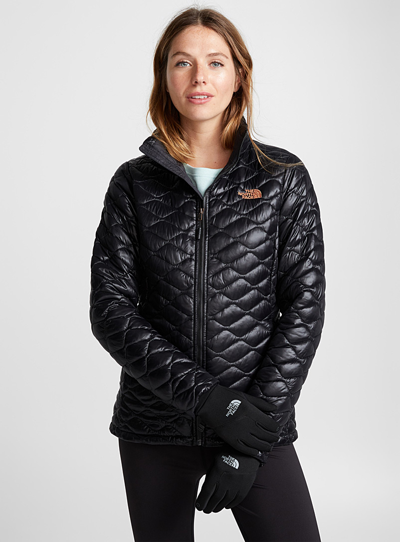 Thermoball quilted jacket  Active fit - Skiing - Black