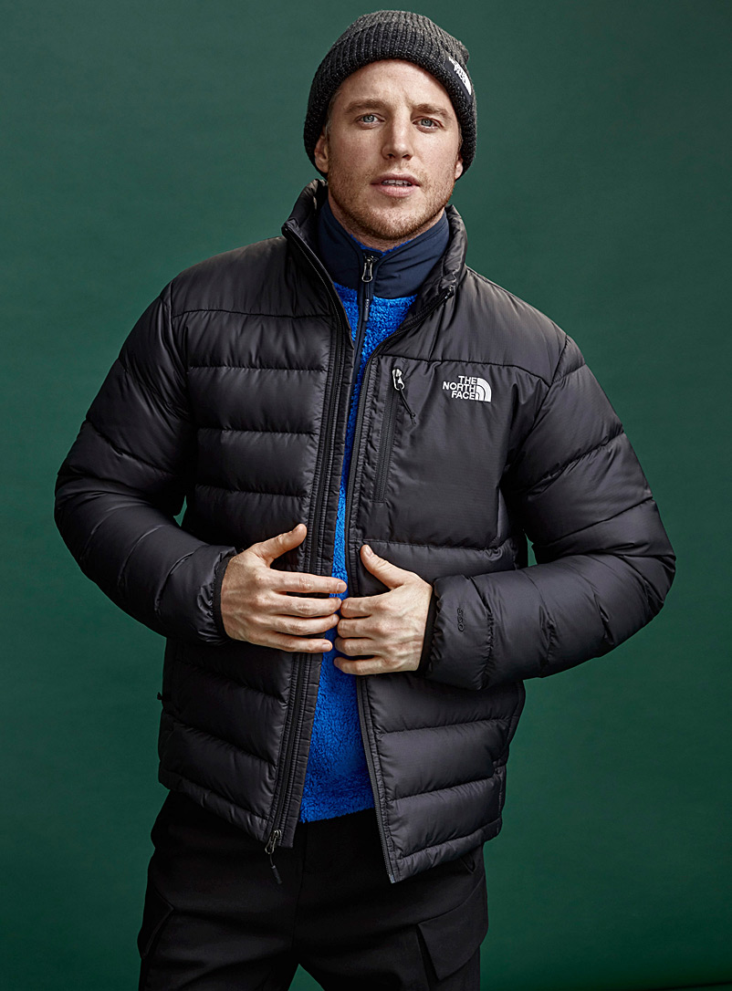 The North Face Black Aconcagua jacket  Relaxed fit for men