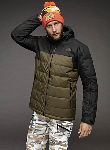 Gatebreak down jacket <br>Regular fit