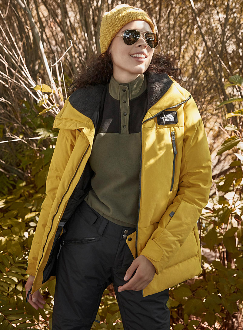 Pallie quilted parka  Regular fit - Snowboarding - Bright Yellow