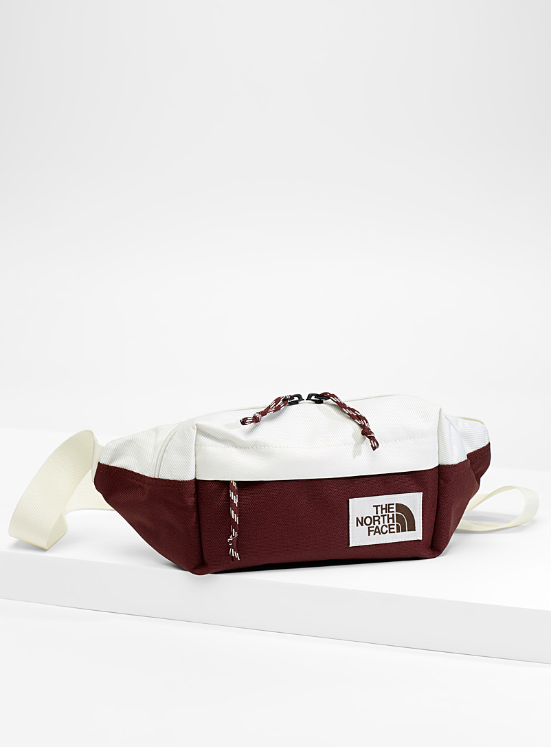 Lumbar two-tone waist bag - Outdoor - Ivory White