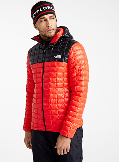 Thermoball puffer jacket <br>Active fit