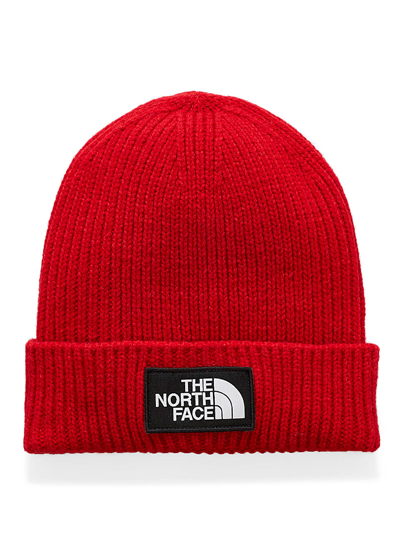 TNF logo folded cuff tuque - Tuques & other