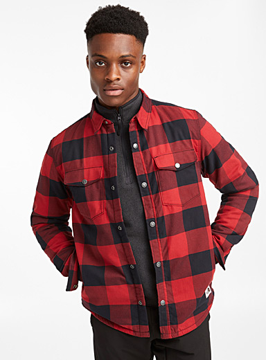 Campshire fleece-lined overshirt