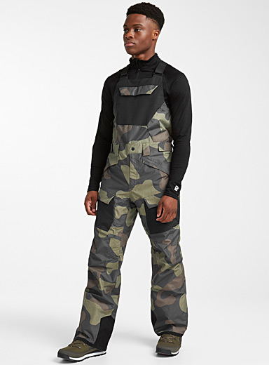 Freedom camo bib pant <br>Regular fit