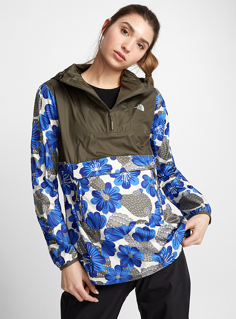 Marine life anorak - Outdoor - Patterned Blue