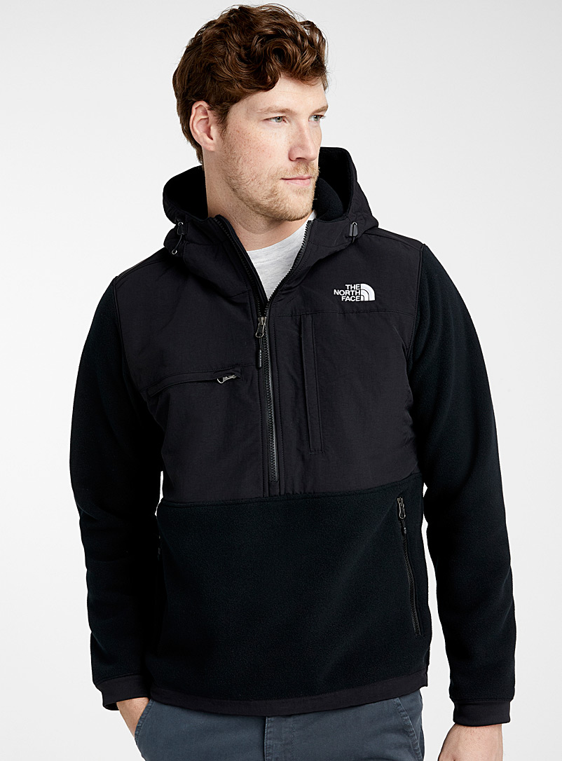Denali polar fleece anorak - Jackets & Vests - Black
