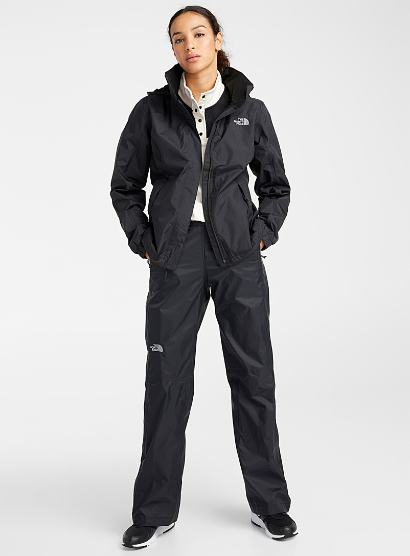 The North Face Ivory White Minimalist high neck fleece for women