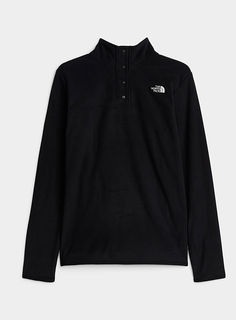 The North Face Patterned Black Minimalist high neck fleece for women
