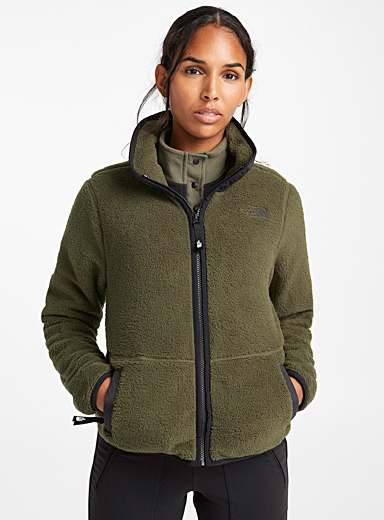 Dunraven cropped utility fleece jacket
