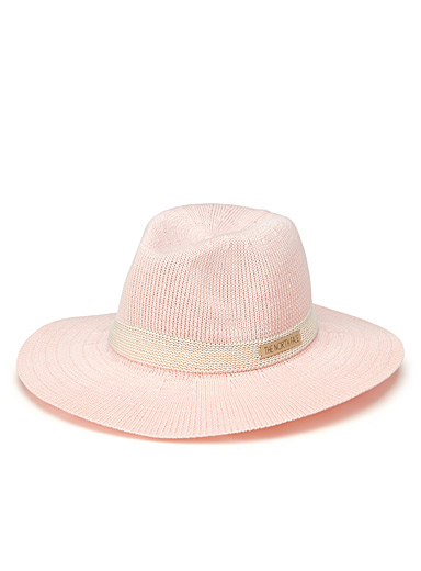 Knitted Panama hat