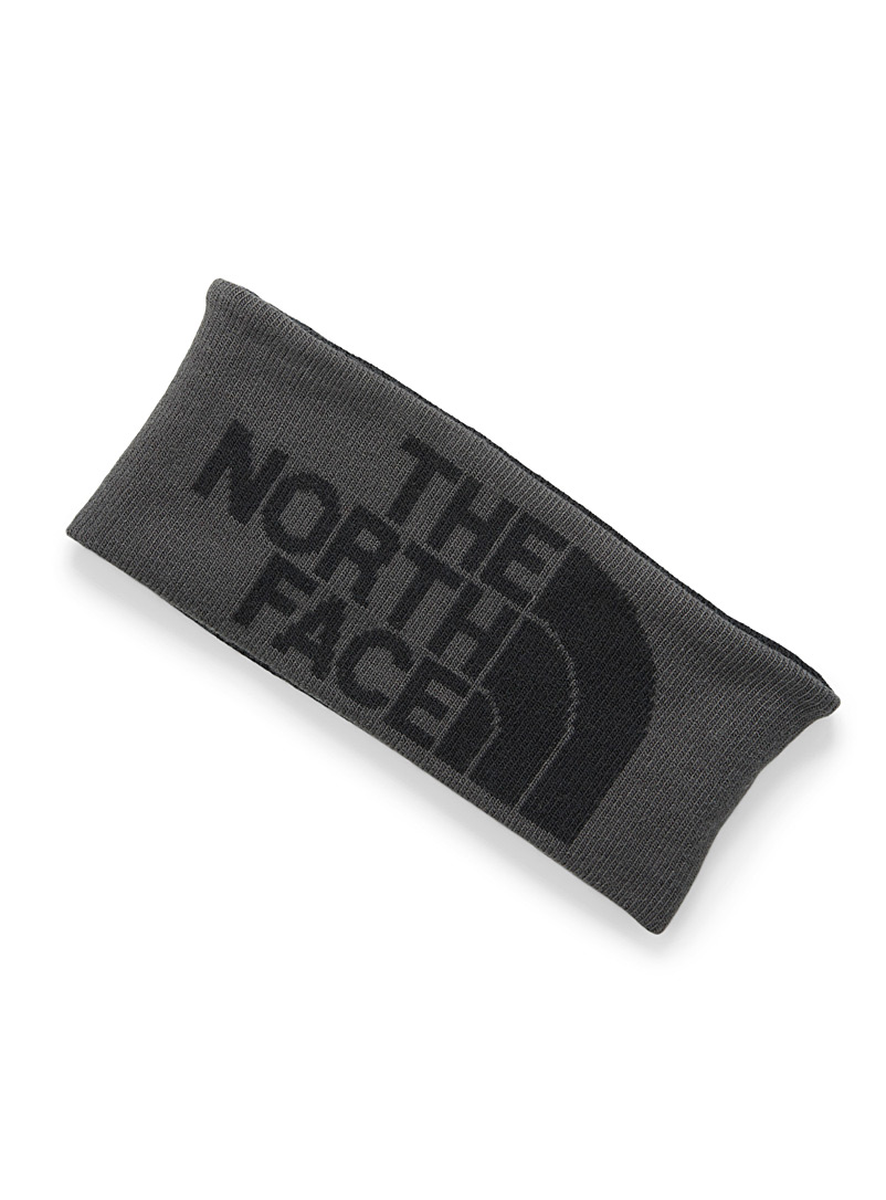 The North Face Black Chizzler reversible headband for women