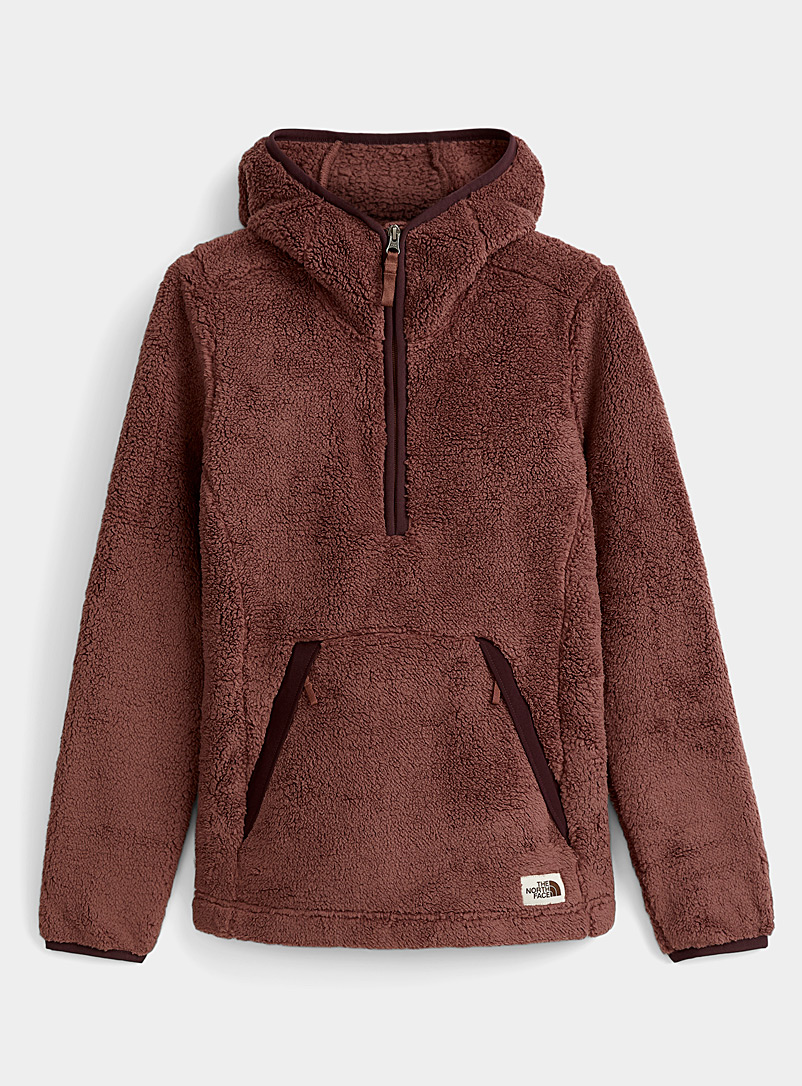 The North Face Medium Crimson Retro sherpa hoodie for women