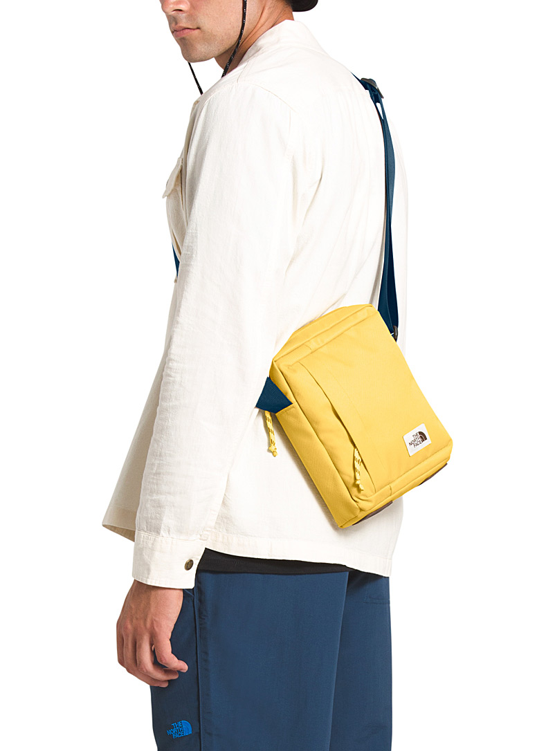 The North Face Light Yellow Small utility shoulder bag for women