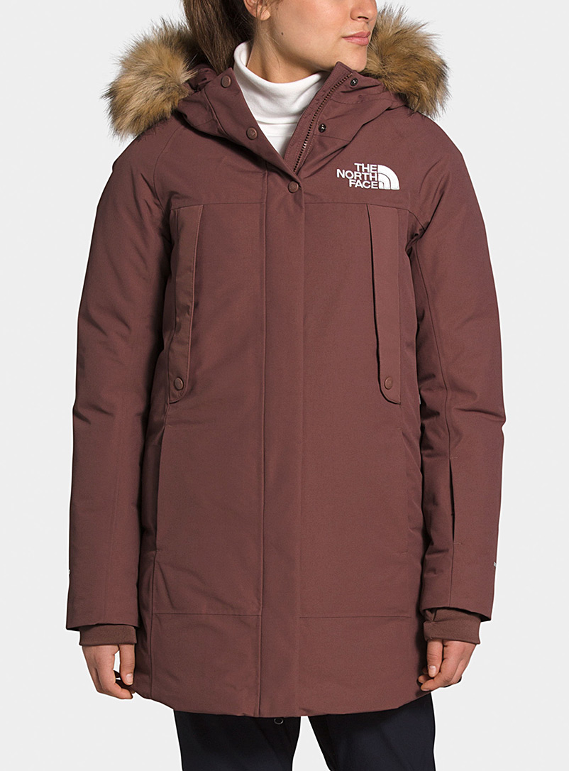 Outerboroughs fitted down parka  Relaxed fit