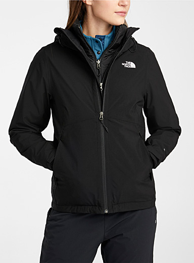 The North Face Black Carto 3-in-1 coat  Regular fit for women
