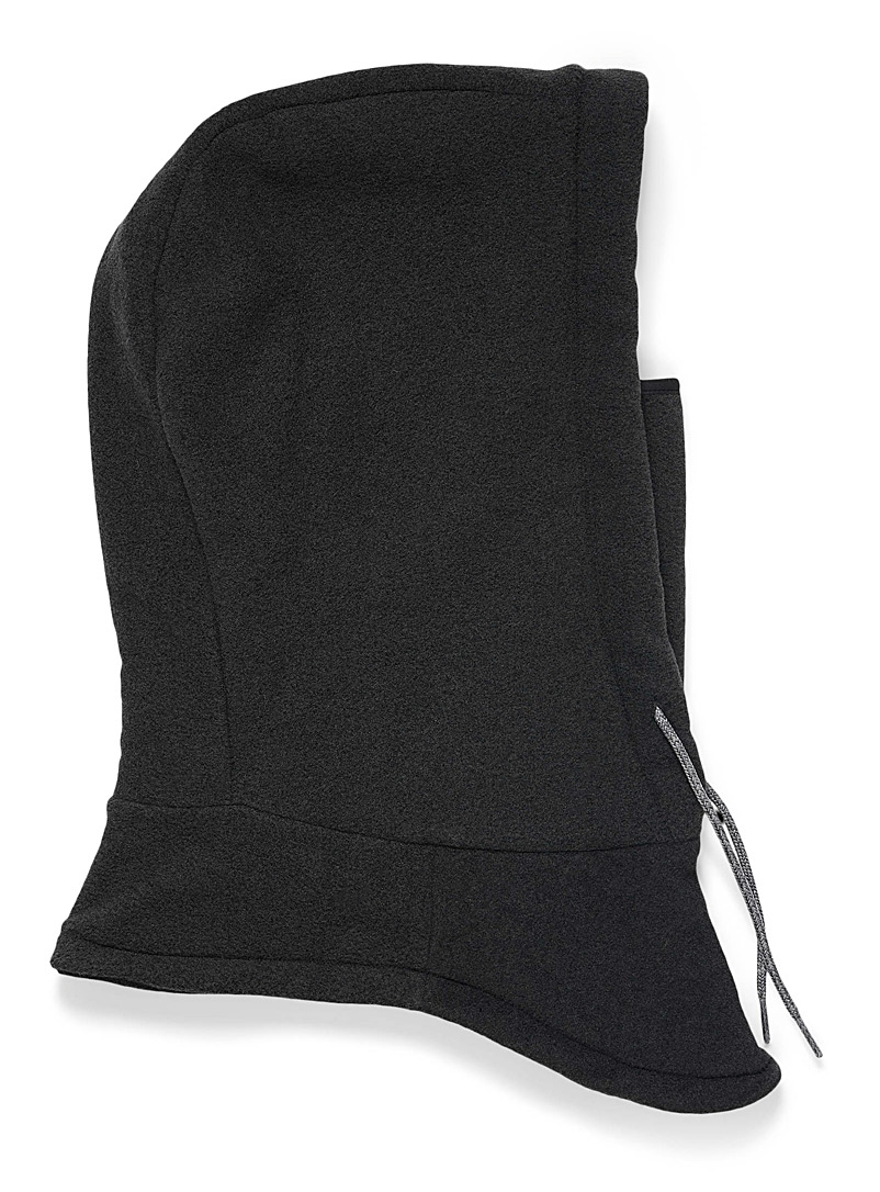 The North Face Black Whimzy hooded balaclava for women