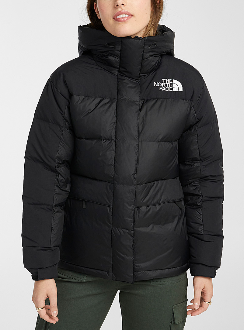 The North Face Black HMLYN quilted parka for women