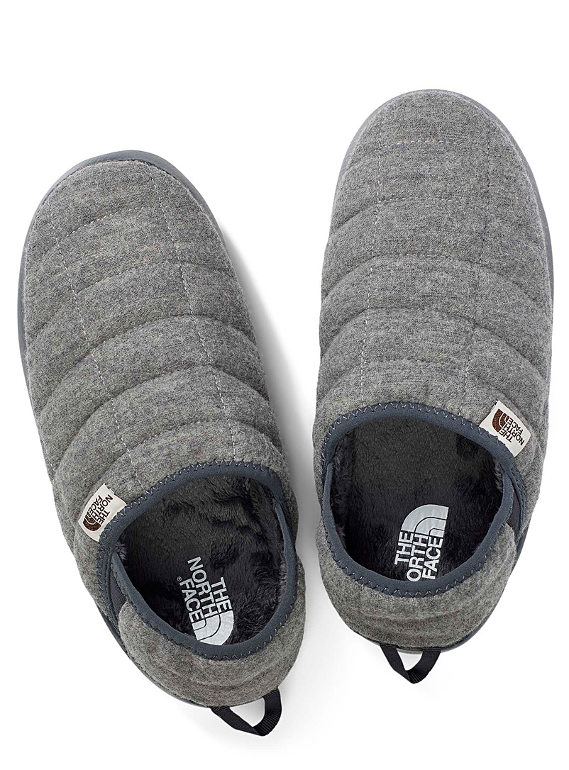 The North Face Dark Grey Thermoball bootie slippers  Women for women