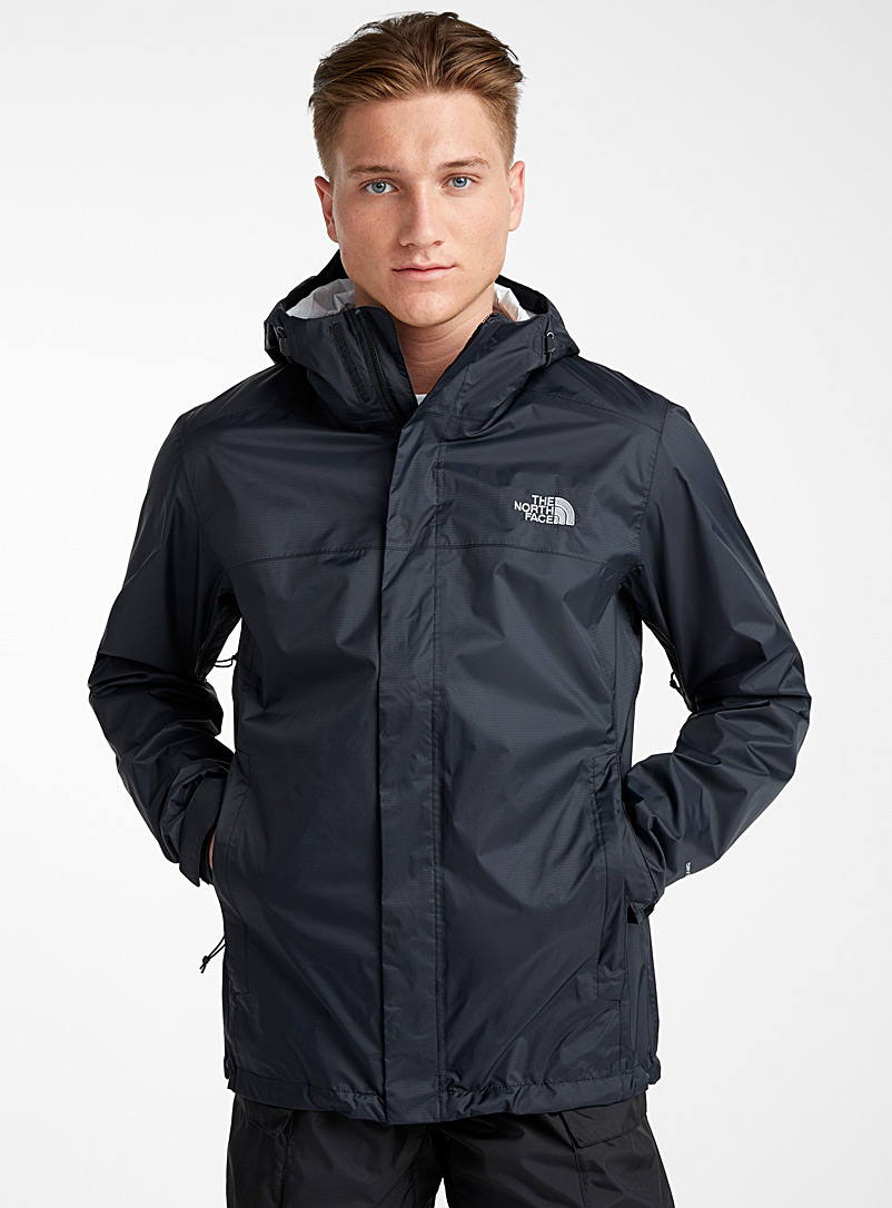 The North Face Black Venture waterproof jacket for men
