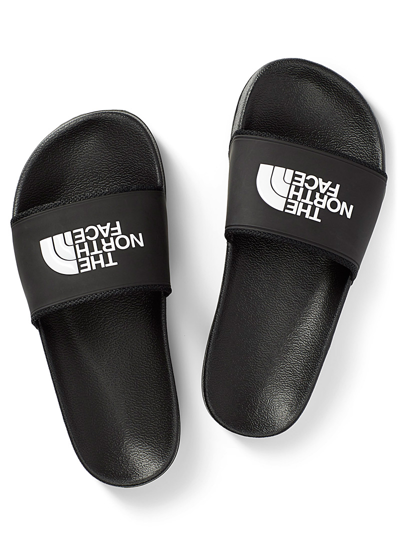 The North Face Black Base Camp II slides for women