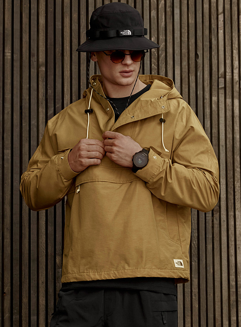 The North Face Sand Windjammer adjustable anorak for men
