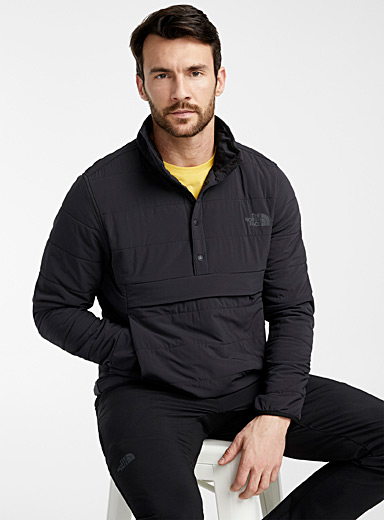 The North Face Black Mountain anorak sweatshirt for men