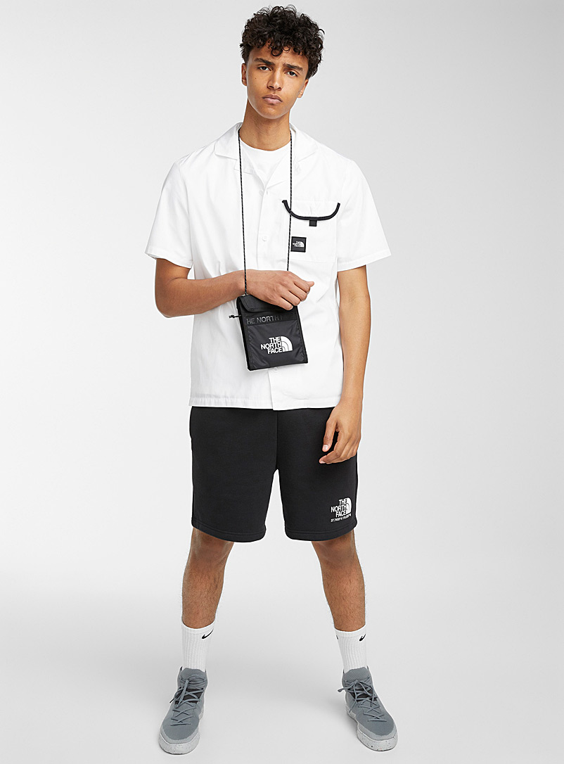 The North Face White Black Box camp shirt for men
