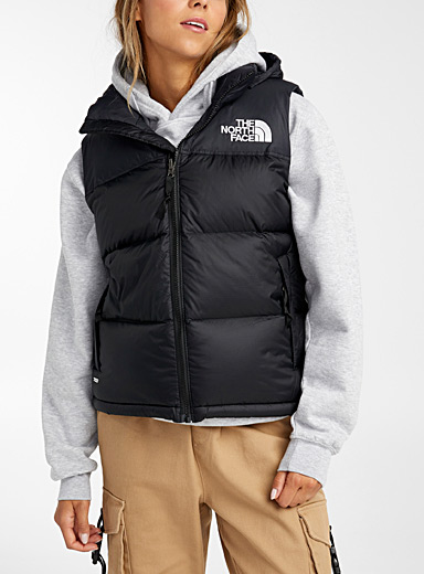 The North Face Black Nuptse 1996 retro jacket for women