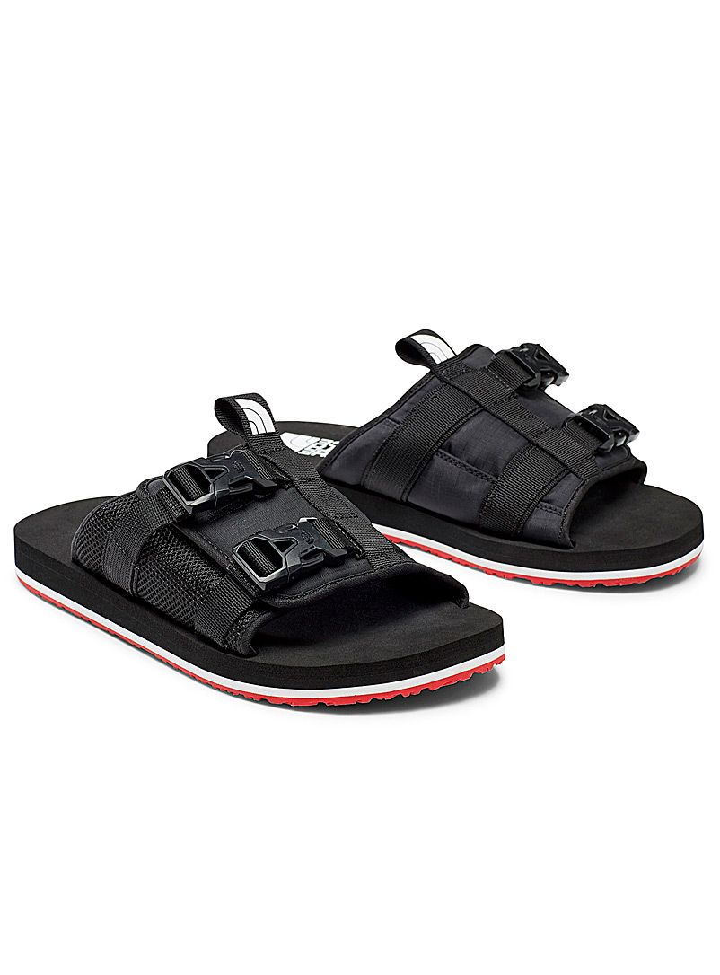 The North Face Black Tactical slides for men