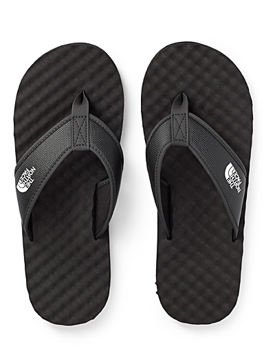 The North Face Black Base Camp flip-flops for men