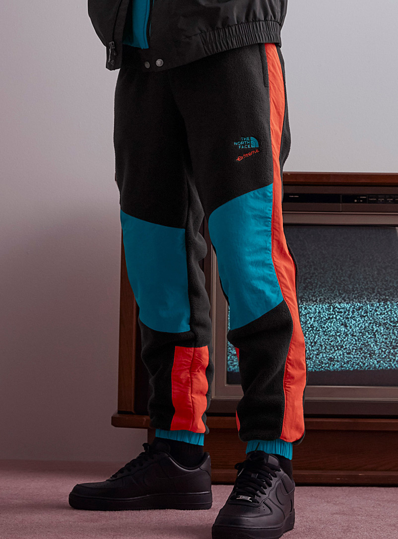 The North Face Black Extreme fleece joggers for men