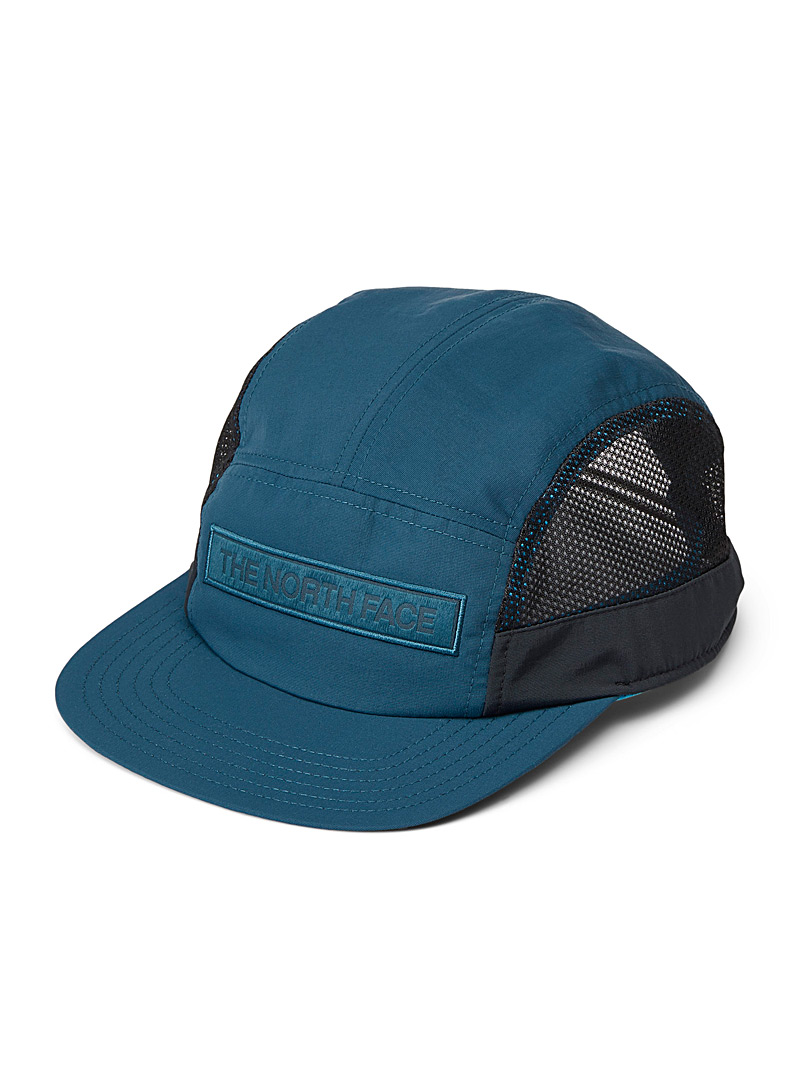The North Face Dark Blue Micro-perforated logo cap for women