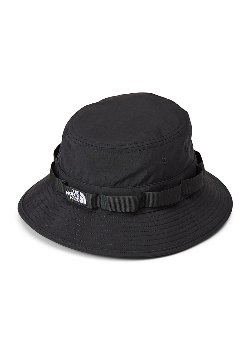 The North Face Black Utility fisherman hat for women